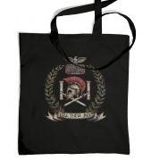 Distressed House Batiatus Crest tote bag