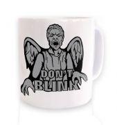 Don't Blink Weeping Angel mug