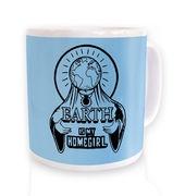 Earth Is My Homegirl mug