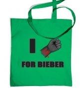 Fist I Cut For Bieber tote bag