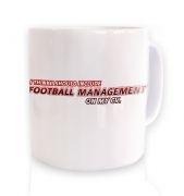 Football Management On CV  mug