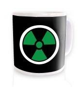 Green Radiation Symbol mug