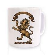 House Lannister Crest mug