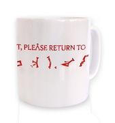If lost please return to Earth mug