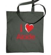 I Heart Alcide tote bag