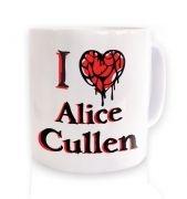 I Heart Alice Cullen  mug