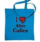 I Heart Alice Cullen tote bag