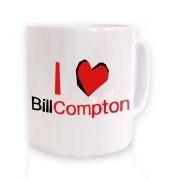 I heart Bill Compton mug