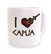 i heart capua mug