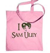 I Heart Sam Uley  tote bag