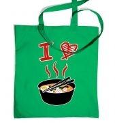 I Love Ramen tote bag
