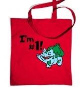 Im #1! tote bag