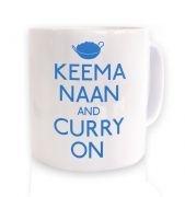 Keema Naan And Curry On mug