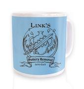 Link's Pottery Removal mug