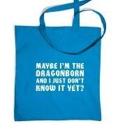 Maybe I'm The Dragonborn tote bag