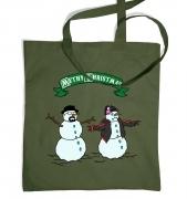 Methy Christmas tote bag