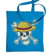 Pirate Skull Distressed tote bag