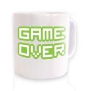 Pixelated Game Over  mug