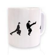 Row Of Silly Walks  mug