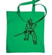 Samurai Ronin Japanese tote bag