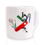 Science Army Knife mug