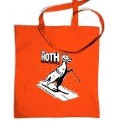 Ski Hoth tote bag