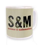 S & M mug