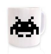 Alien Invader Pixel Art  mug
