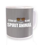 Stan Lee Is My Spirit Animal mug