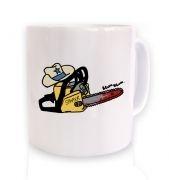Texas Chainsawyer mug