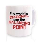 The World Is Diagonal  mug