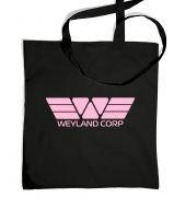 Weyland Corp (pink) tote bag