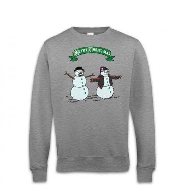 Methy Christmas sweatshirt