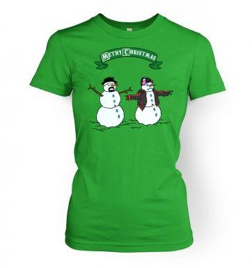 Methy Christmas women's t-shirt