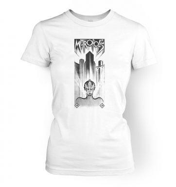 Metropolis   womens t-shirt