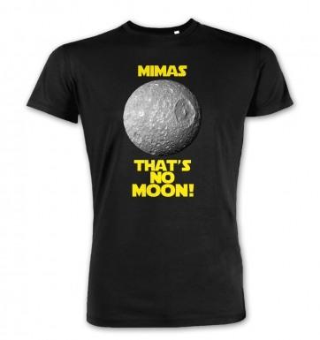 Mimas That's No Moon premium t-shirt