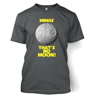 Mimas That's No Moon t-shirt