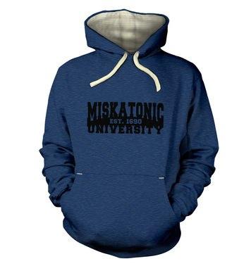 Miskatonic University hoodie (premium)