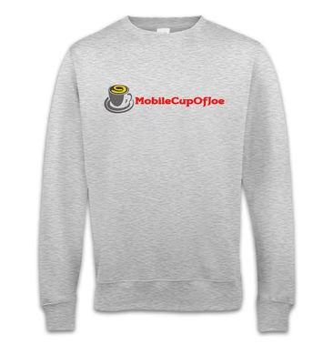 MobileCupOfJoe sweatshirt - linear logo