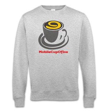 MobileCupOfJoe sweatshirt - stacked logo
