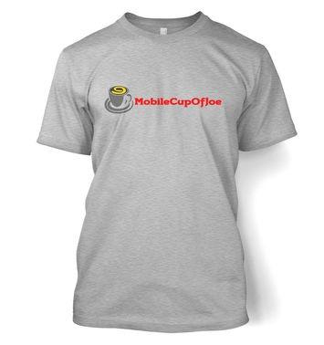 MobileCupOfJoe t-shirt - linear logo