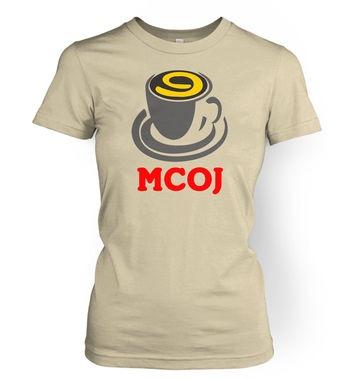 MobileCupOfJoe women's t-shirt - MCOJ logo