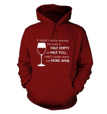 More Wine hoodie