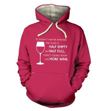 More Wine hoodie (premium)