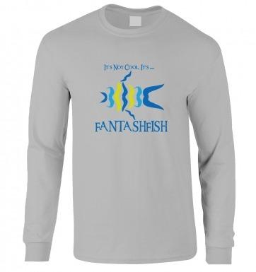 Moustache Fish long-sleeved t-shirt