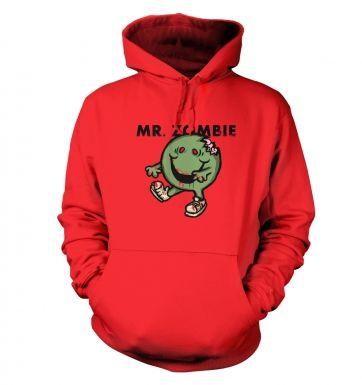 Mr.Zombie Unisex College hoodie
