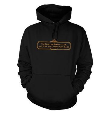 Music Bach hoodie