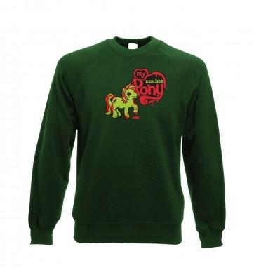 My Zombie Pony sweatshirt
