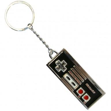 Nintendo Enamelled Metal NES Controller keychain