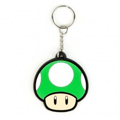 Nintendo Super Mario Bros 1UP Mushroom keychain